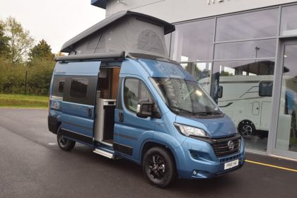 HYMER Camper Van Free 540 Blue Evolution