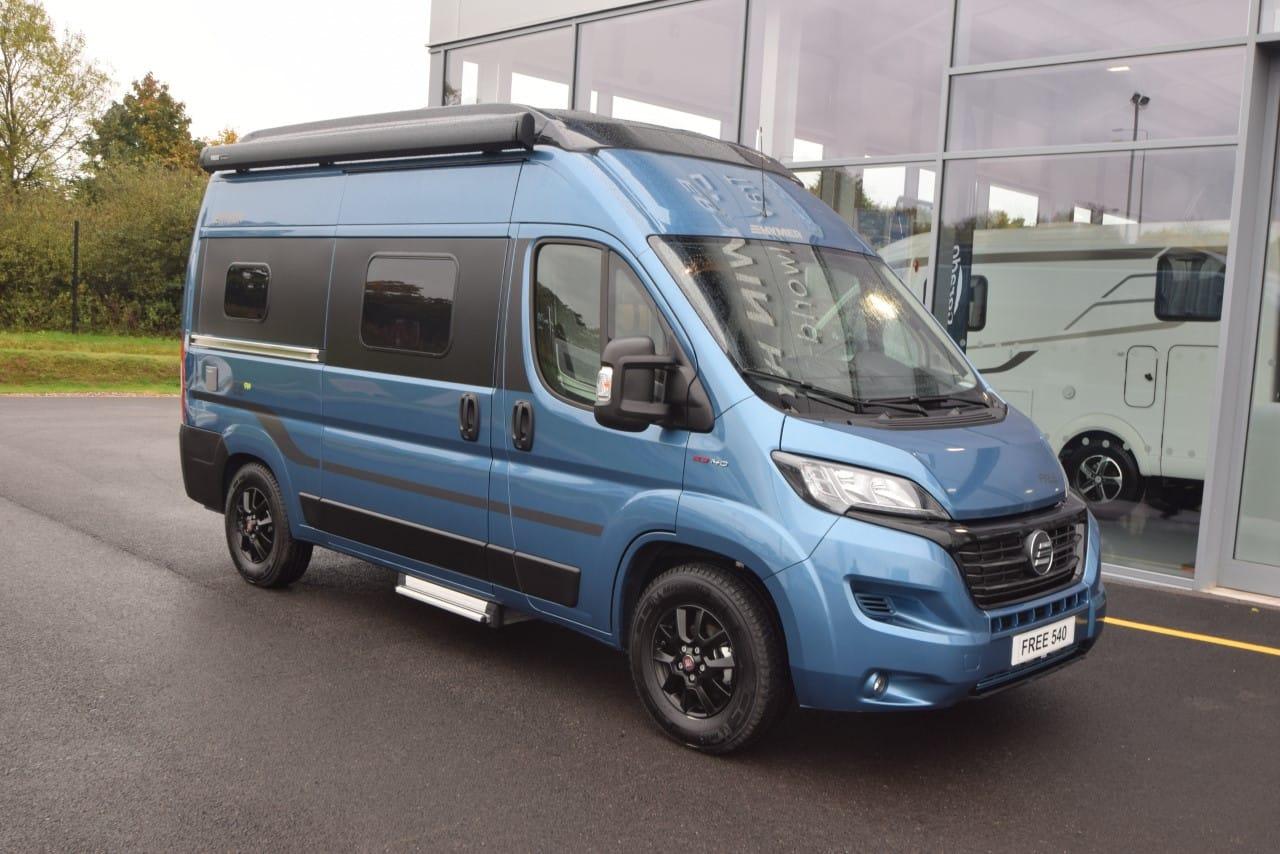HYMER Camper Van Free 540 Blue Evolution