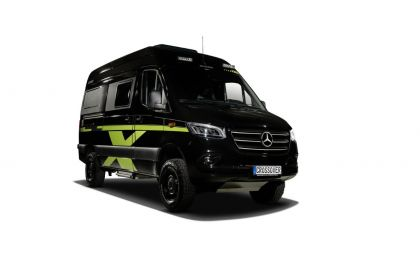 HYMER Camper Van Grand Canyon S 4×4 CrossOver